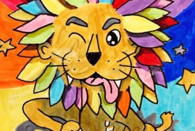 からふるライオン