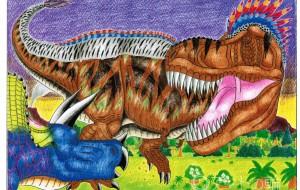 ティラノサウルスVSトリケラトプスNO.3 - Yossie