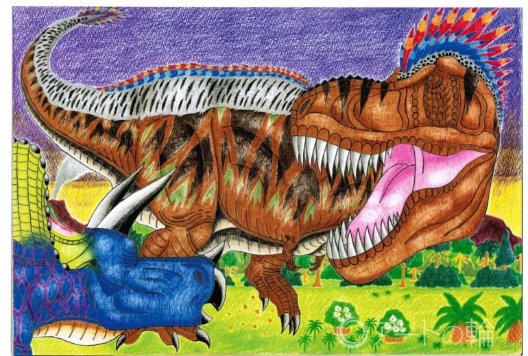ティラノサウルスVSトリケラトプスNO.3