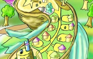 島ドリと城ネコ - Kenji