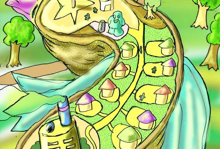 島ドリと城ネコ