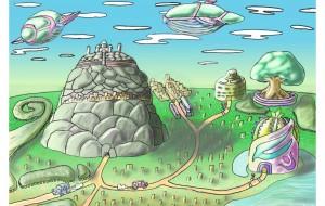岩窟の街 - Kenji