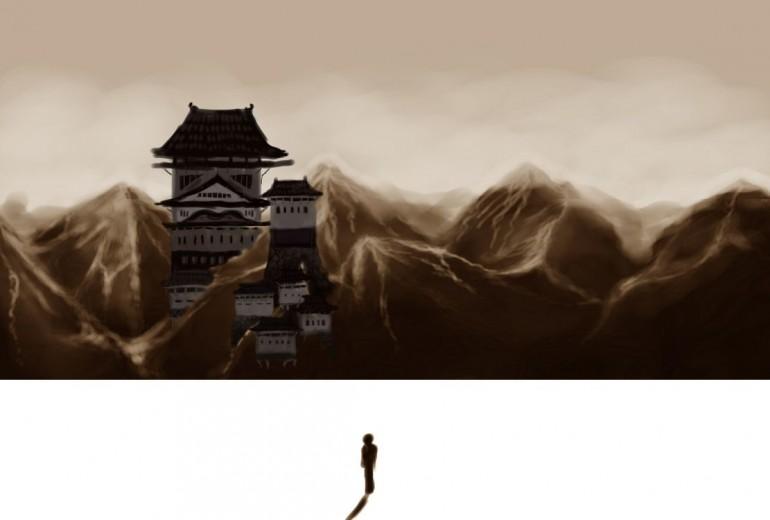 城のある山