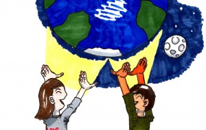 地球と子ども - Takeshi