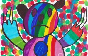 カラフルなクマ - Tomoyuki
