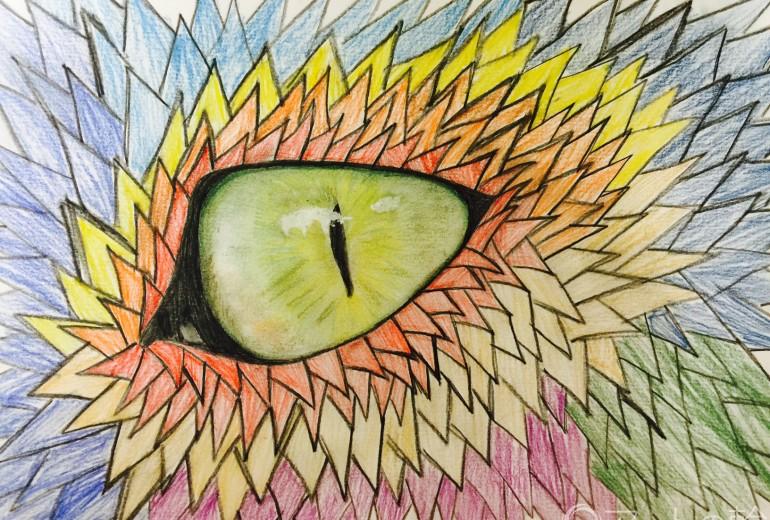 ドラゴンの目