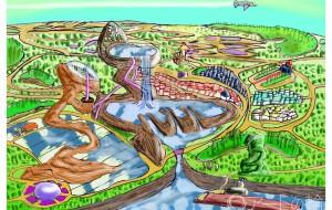 神と人々の住む都市 - Kenji
