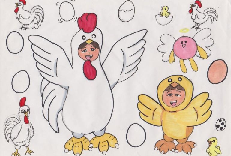 タマゴ天使とお母さん