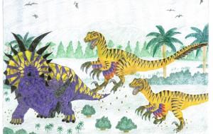 スティラコサウルスvsヴェロキラプトル - Yossie