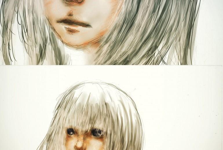 gilr,whitehair