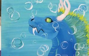 水の中のドラゴン - RINA