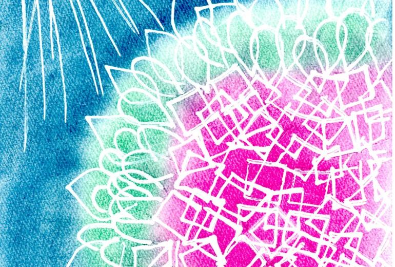 遅すぎた紫陽花