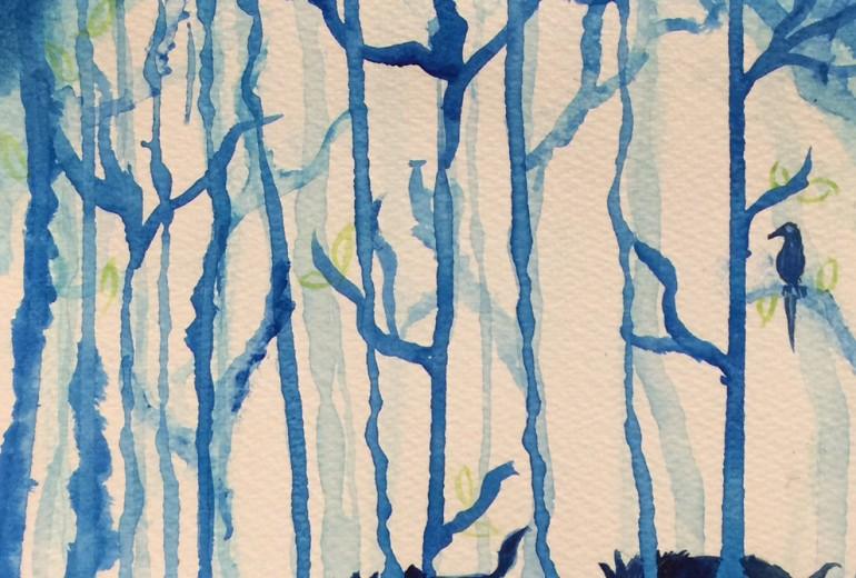 森の中の散歩