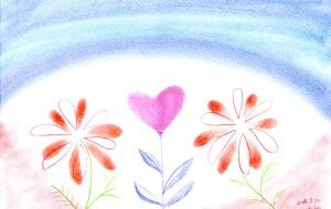 愛の花 - 桃うさぎ