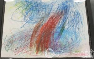 32-西村隆寛 無題 - 鶴ヶ島市立中央図書館 「障がい者アート絵画展」