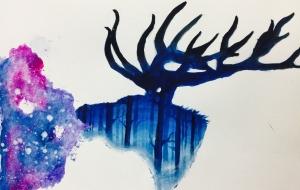 森の中の鹿 - RINA