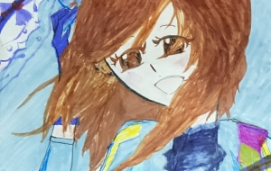 Blue Girl - 雪野ぴよこ