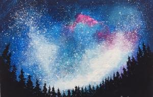 森から見上げた星空 - RINA
