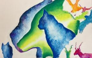 カラフル森の動物達 - RINA