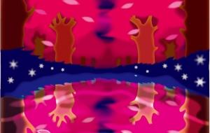 紅の夜桜 - ショウヘイ