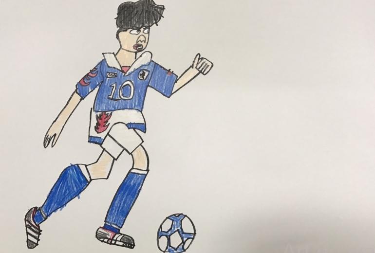 サッカー選手2