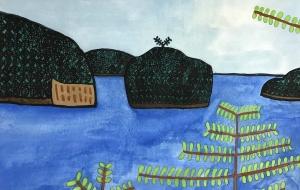 島々(仮) - (公財)日本チャリティ協会:パラアートスクール