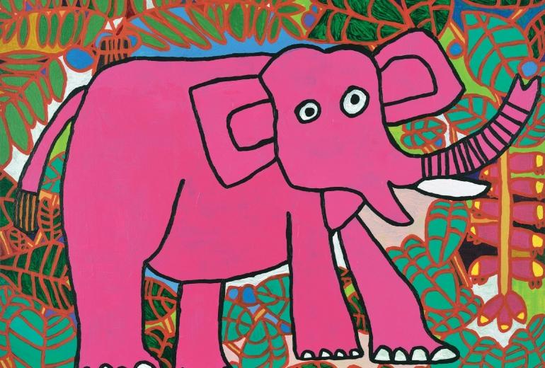 ゾウとジャングル