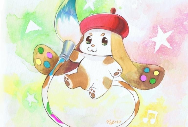 障がい者アート協会キャラクター応募作品(2)