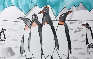 ペンギンたち - 太一