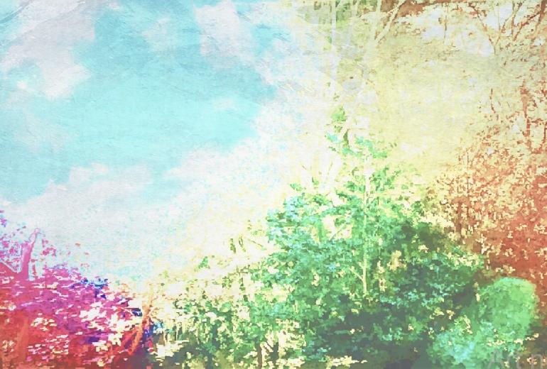 秋のにぎわい