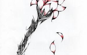花 - キナコモチコ