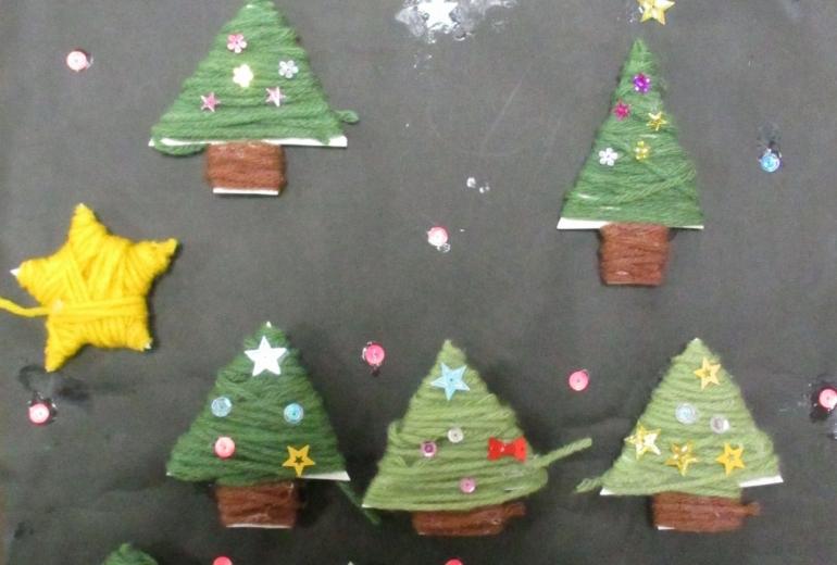 17_クリスマスの夜(ゆめの園生活)