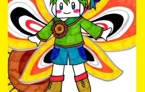 向日葵の妖精 - TOMO