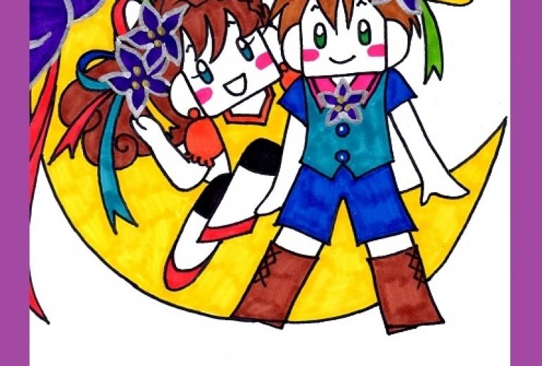 桔梗の妖精