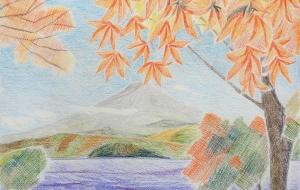 紅葉、秋の始まり - 三日月 克年