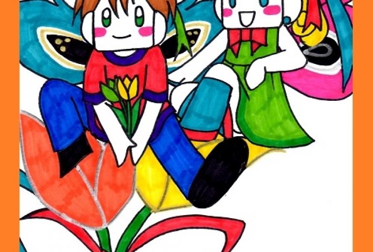 チューリップの妖精