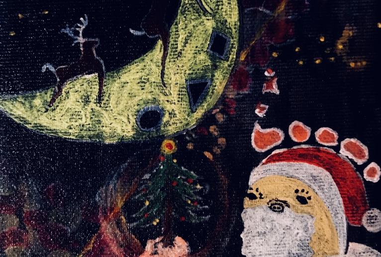 「クリスマスカード」① - yuhki
