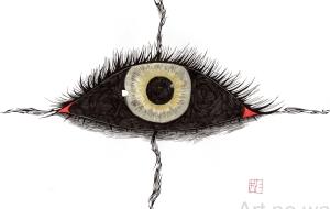 金の眼 - キナコモチコ