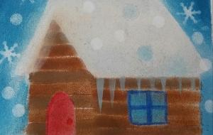 雪景色の家 - なおみ