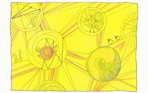 幾何学の世界 - 虎目梨那