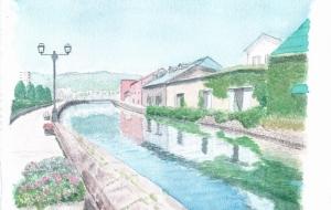 小樽運河 - cocoa float