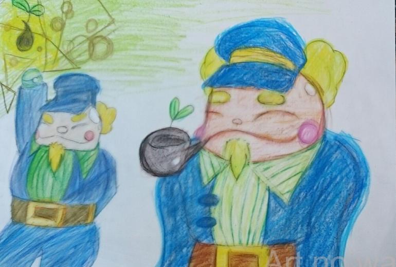 船員01.ホエール船長