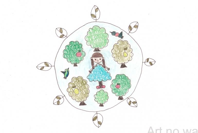 木の精たち
