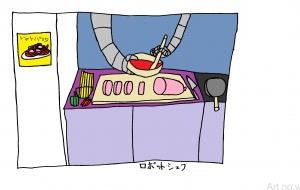 ロボットシェフ - yu-ma