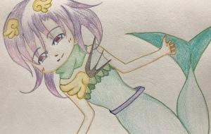 人魚姫 - もちこ