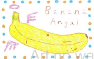 angel banana - asami