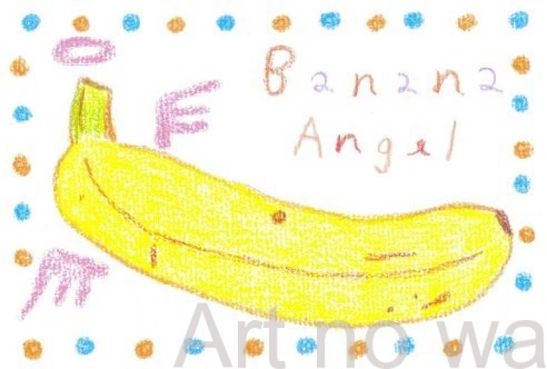 angel banana