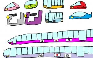 未来の乗り物 - yu-ma