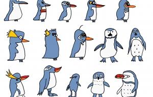ペンギン15種 - MAYA