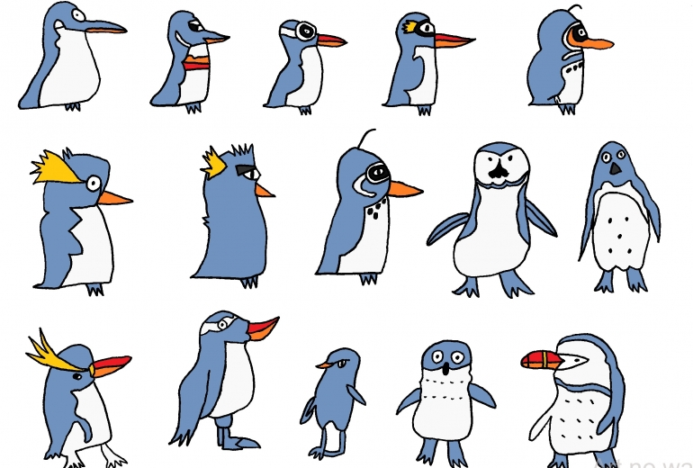 ペンギン15種